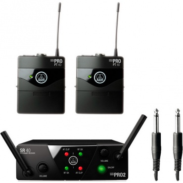 Инструментальная радиосистема AKG WMS40 Mini2 Instr. Set ISM2/3